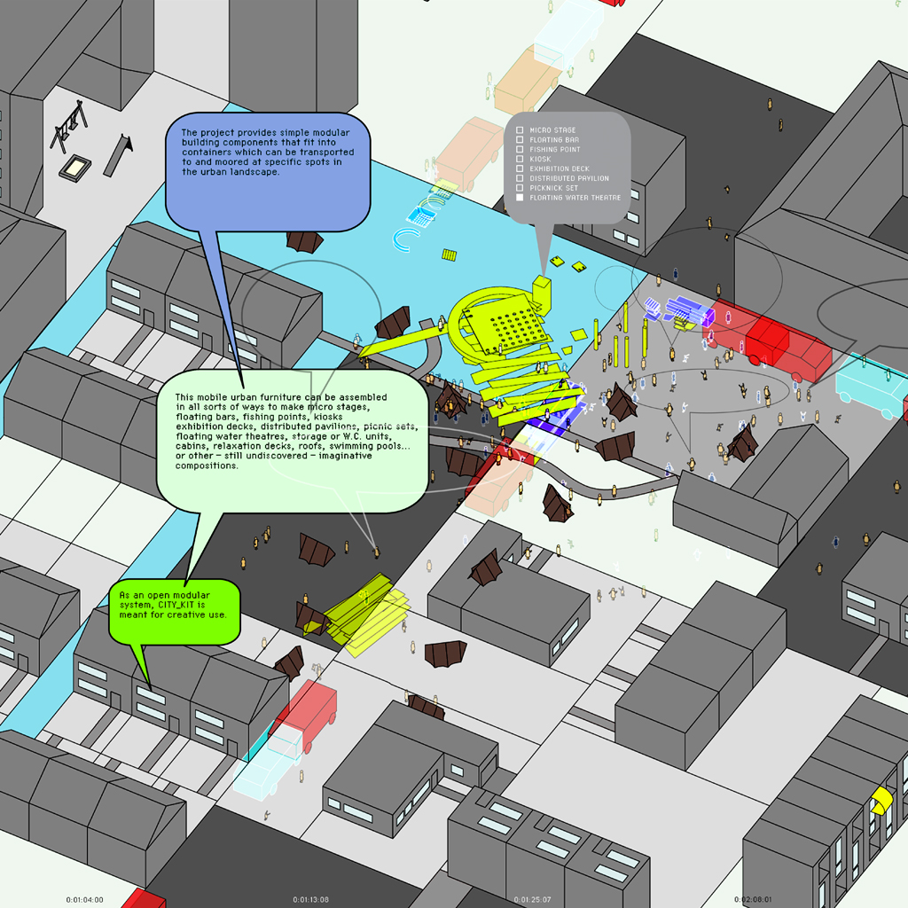 Hybrid space lab and networked participatory design systems for Space architects and planners