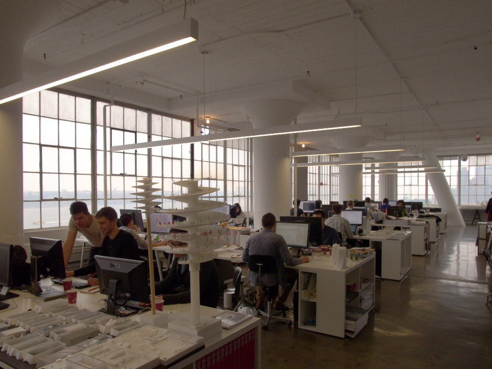 Studio visit big nyc for The space studio architects